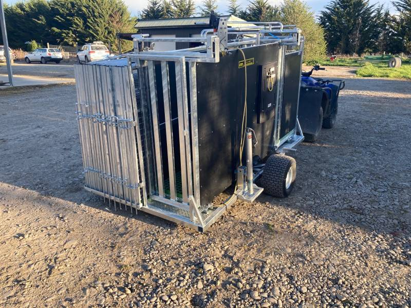 Mobile Weigh And Draft Station  For Calves