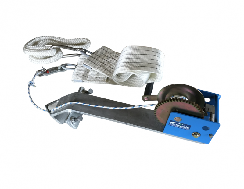 Belly Winch And Rope/safety Hatch