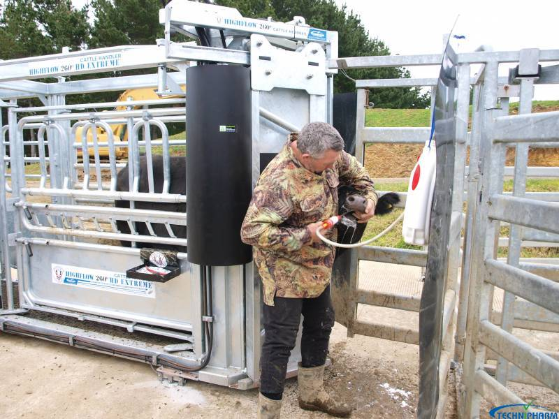 David Green Drenching in Highflow 260 Handler