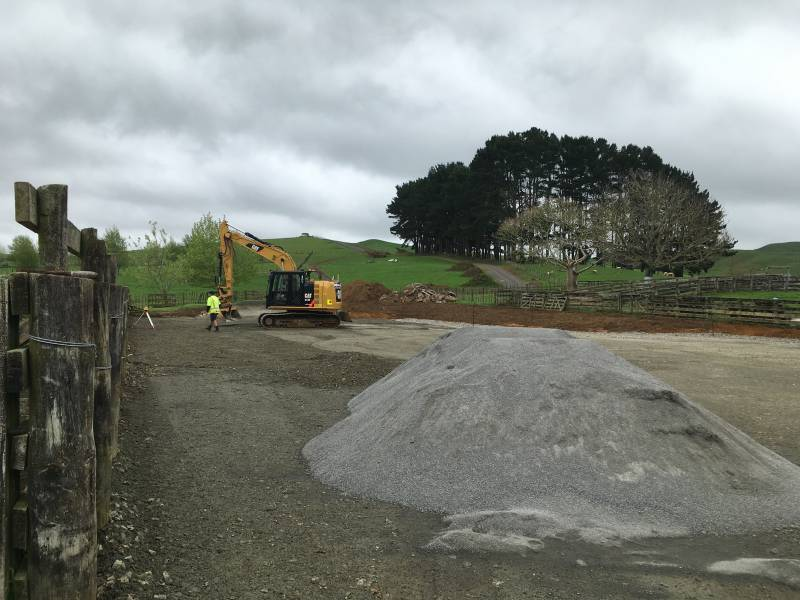 Earthworks and Concrete pour
